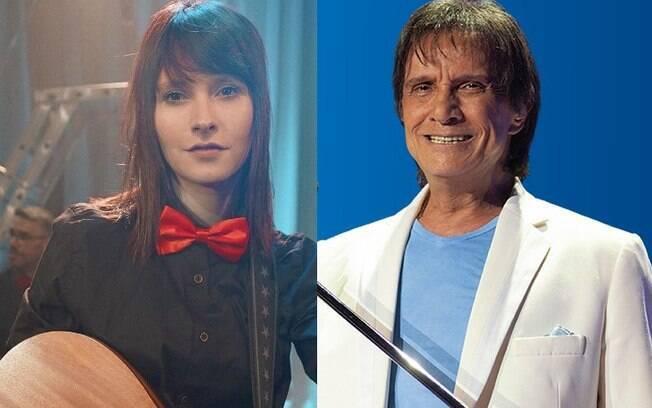 Tamara Angel e Roberto Carlos