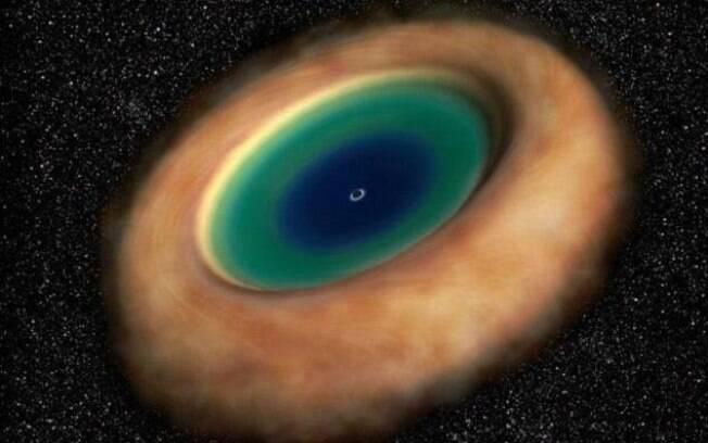 A existência de um círculo de gás ao redor de buracos negros era especulada há décadas, mas só foi confirmada agora