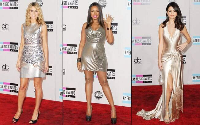 Heidi Klum, Jennifer Hudson e Selena Gomez