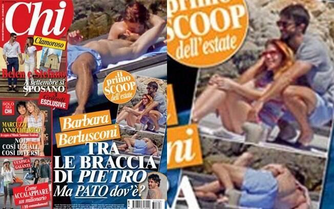 Barbara Berlusconi é fotografada aos beijos com outro homem