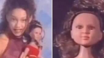Taís Araújo resgata comercial de boneca branca inspirada nela
