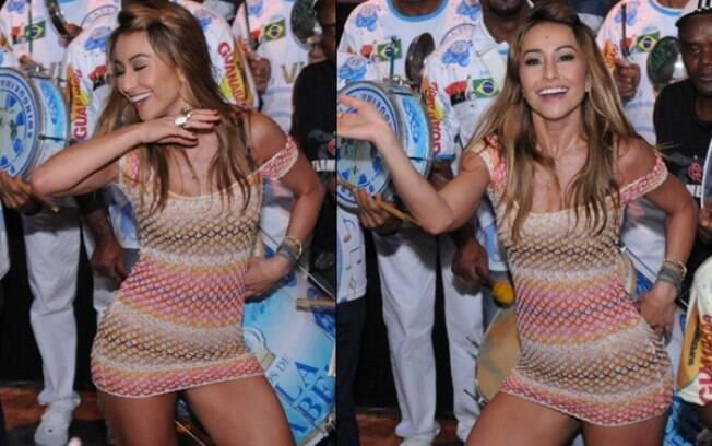 Sabrina Sato cai no samba na Vila Isabel