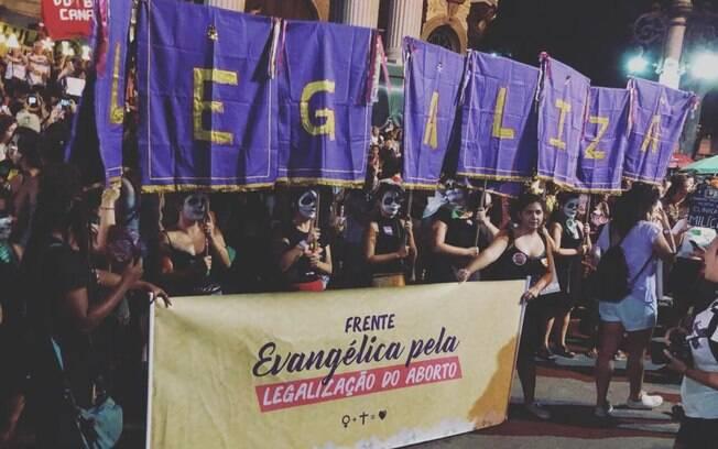 A Frente Evangélica pela Legalização do aborto atua em São Paulo e no Rio de Janeiro