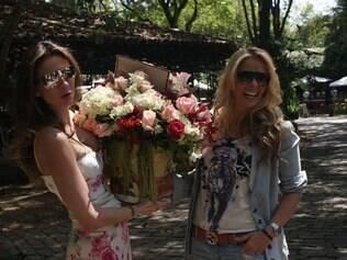 Luciana Gimenez e Adriane Galisteu: encontro na casa de Marta Suplicy