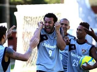 Renato Gaúcho confia no talento de Fred e Walter