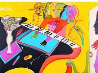 """""""Um Piano Atrás da Porta"""", que integra exposição de Fernando Pacheco, na Casa Fiat"""