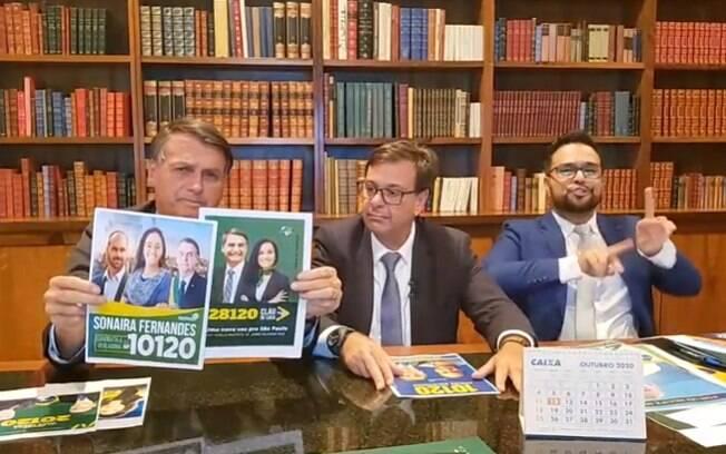Bolsonaro não admite a derrota