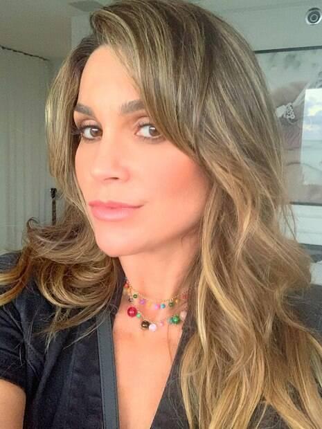Em 2015, Flavia Alessandra teria audiência com Fabíola Reipert, mas não compareceu