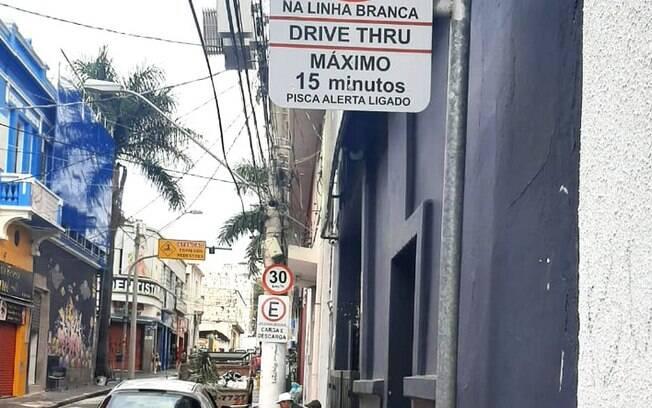 Campinas conta com novas vagas para estacionamento de drive-thru no Centro