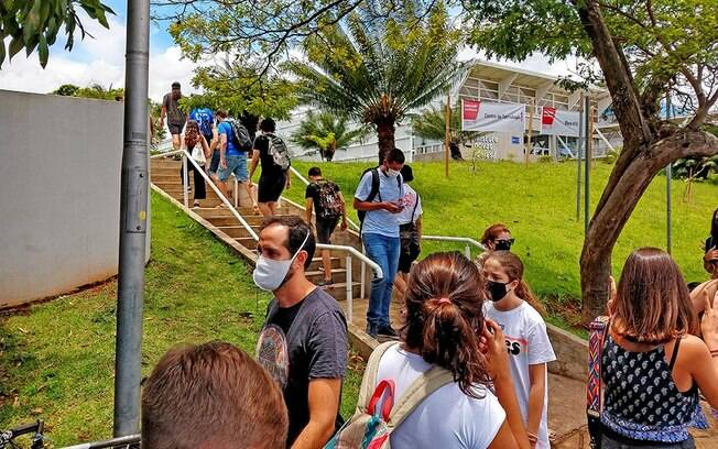 Vestibular da Unicamp bateu recorde de abstenções.