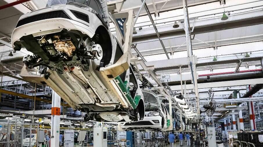 Fábrica da Volkswagen em Taubaté (SP)