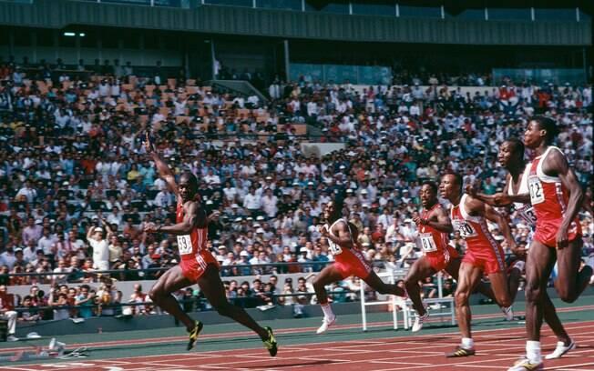 Ben Johnson venceu os 100m rasos no dia 24 de setembro de 1988. Não valeu