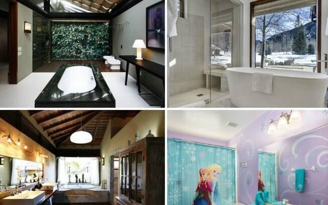 Cada banheiro de luxo tem o seu diferencial! Veja as opções que vão de R$ 1 mil a diária até o valor de R$ 64 mil