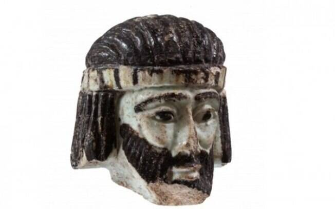 A pequena escultura foi encontrada em um sítio arqueológico em Israel, próximo da fronteira com o Líbano