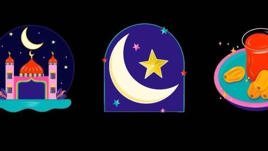 Instagram criou figurinhas para o Ramadan