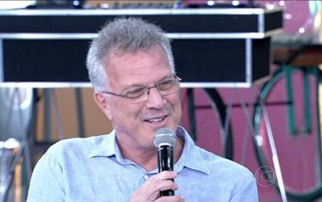 Pedro Bial no programa 'Encontro com Fátima Bernardes'