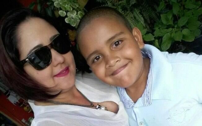 Relato da professora foi compartilhado pela mãe do menino Matheus nas redes sociais