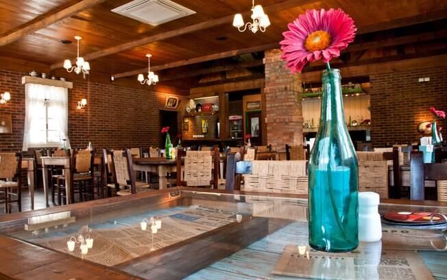 A especialidade do Unser Haus, em Nova Petrópolis, é a cozinha tradicional alemã. Foto: Divulgação