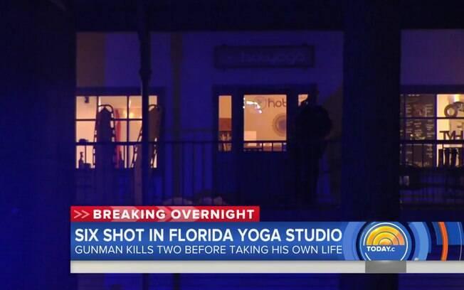 Tiroteio na Flórida deixou três mortos e cinco pessoas feriadas em um estúdio de ioga. Veja mais detalhes