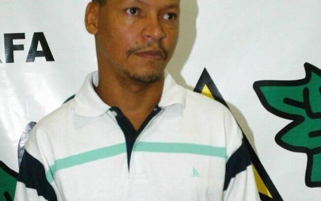O traficante Odir dos Santos, quando foi capturado há 12 anos