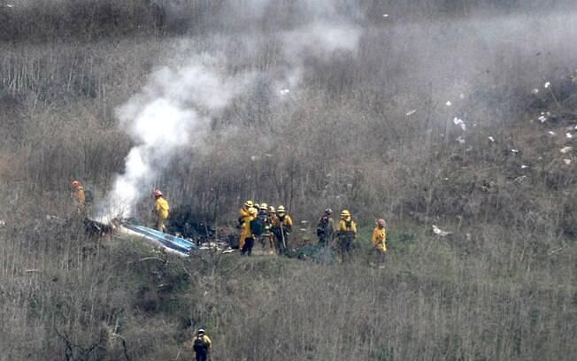 Acidente de helicóptero matou Kobe Bryant%2C sua filha e outras sete pessoas