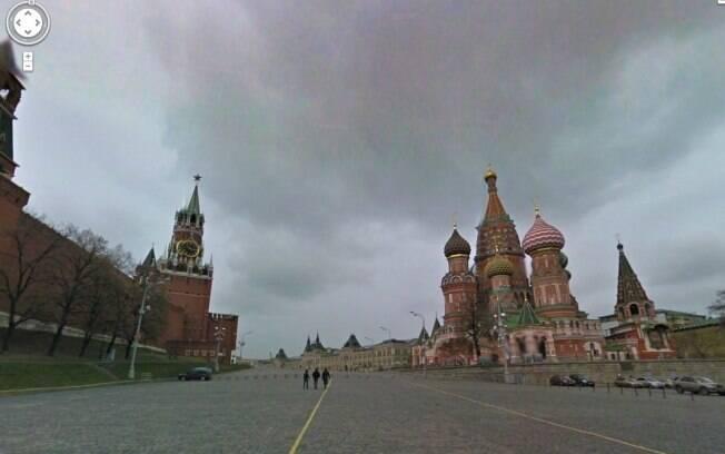 Google Street View agora mostra Moscou e São Petesburgo