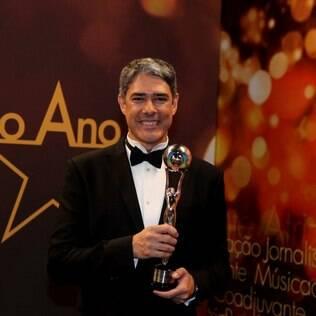 William Bonner leva prêmio de Jornalismo no Melhores do Ano