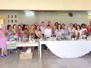 Dia das Mães foi comemorado com presentes produzidos pela oficina local