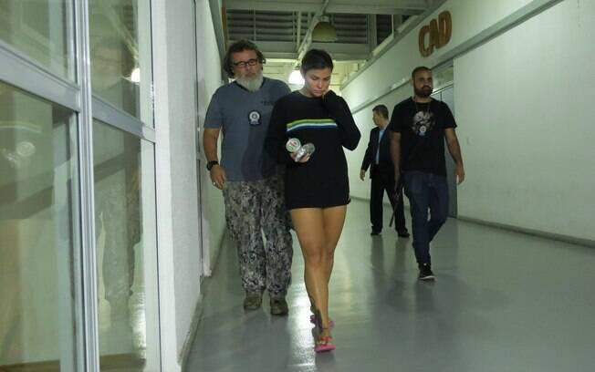 Mulher do traficante Nem da Rocinha, Danúbia Rangel foi presa nessa terça-feira (10) no Rio de Janeiro