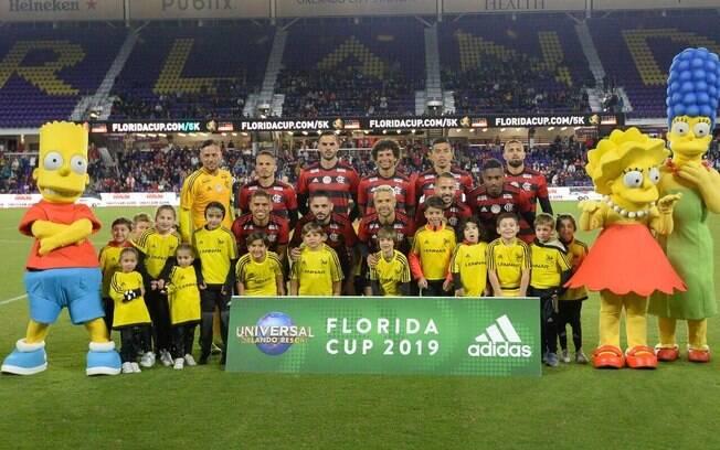Flamengo foi campeão da Florida Cup em 2019