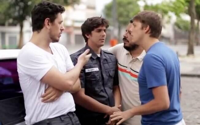 Cena do vídeo 'Dura', do 'Porta dos Fundos'