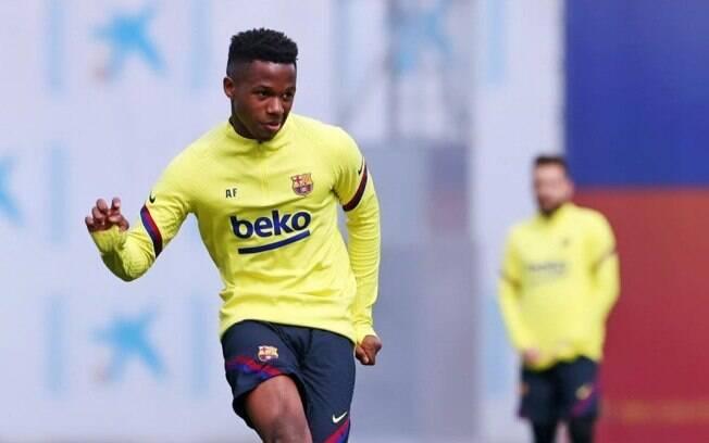 Ansu Fati, jogador do Barcelona e da seleção espanhola