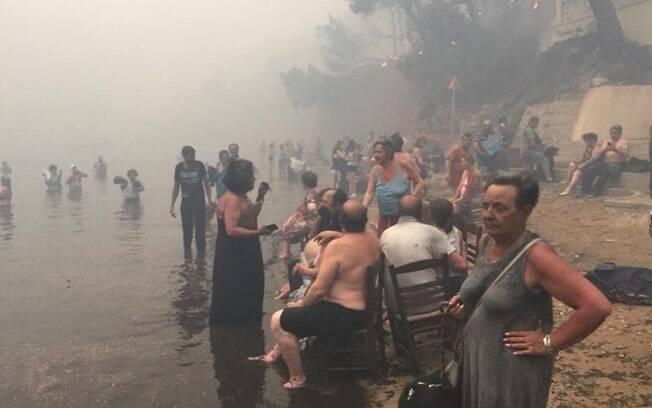 Os incêndios na Grécia em 2018 se tornaram um dos piores desastres naturais do país