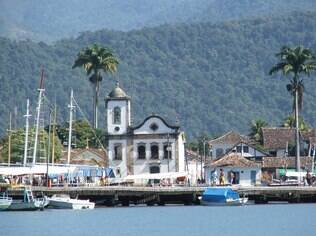 Vista do complexo histórico de Paraty