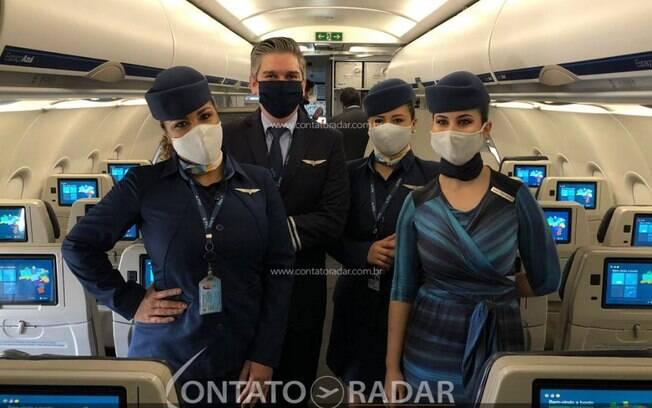 Funcionários de companhias aéreas entram na prioridade na vacinação contra Covid-19