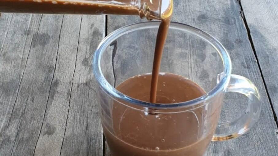 O chocolate quente low carb é uma delícia!