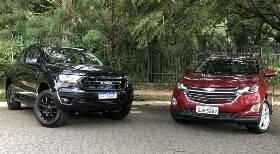 Ranger Black e Equinox: melhores que SUVs médios?