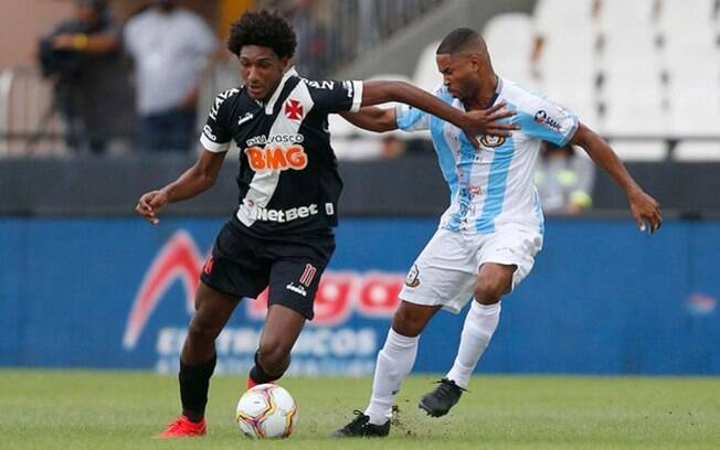 Vasco enfrenta o Macaé nesta quarta-feira