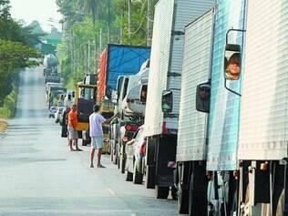 Sem esperança.  Transportadores estão pessimistas e não acreditam que o PIB do país vai crescer
