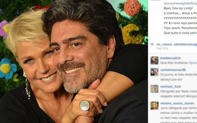 A declaração de amor de Junno para Xuxa