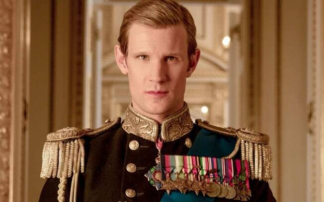 Matt Smith como o Príncipe Philip  em