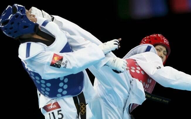 O taekwondo é um esporte olímpico e tem origem coreana