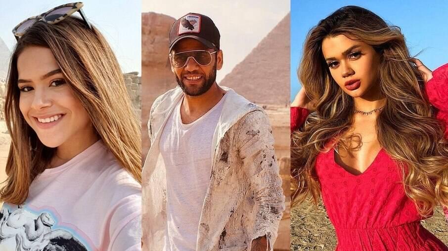 Além de Maísa Silva, o jogador Daniel Alves e a youtuber Franciny Ehlke já foram conhecer as maravilhas do país africano