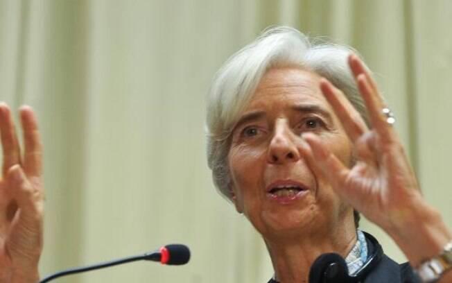 Diretora-gerente do Fundo Monetário Internacional (FMI), Christine Lagarde