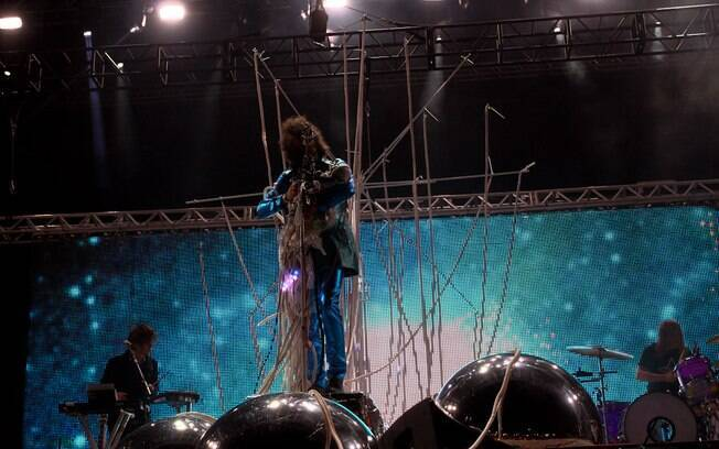 O Flaming Lips tocou no Lollapalooza Brasil 2013