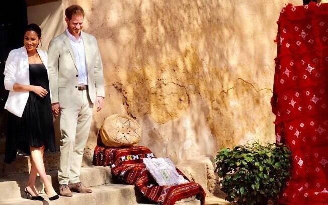 Meghan Markle e Príncipe Harry visitam o Marrocos, no Norte da África