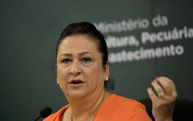 Kátia Abreu foi internada em São Paulo