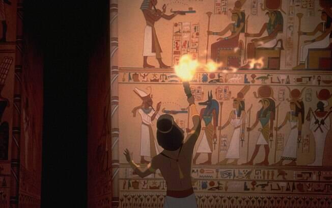 Dirigido por Brenda Chapman, Steve Hickner e Simon Wells, 'O Príncipe do Egito' (1998) conta história de Moisés. Foto: Divulgação