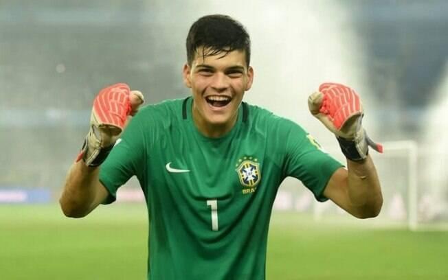 Gabriel Brazão está na convocação da seleção brasileira principal pela primeira vez