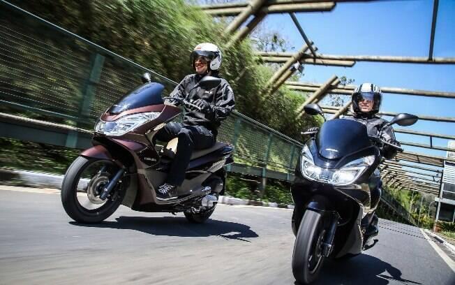 As cubs e os scooteres mais vendidos são os que mais oferecem praticidade e conforto no dia-a-dia